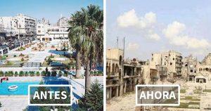 Alepo antes y después