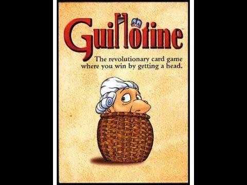 Guillotine juego de mesa